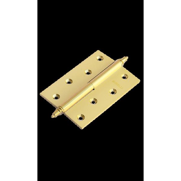 Петля латунная разъёмная с короной MB 100X70X3 SG R C