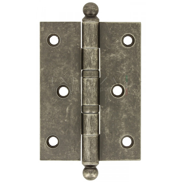 Петля универсальная латунная Extreza 5110 102x75x3 мм античное серебро F45