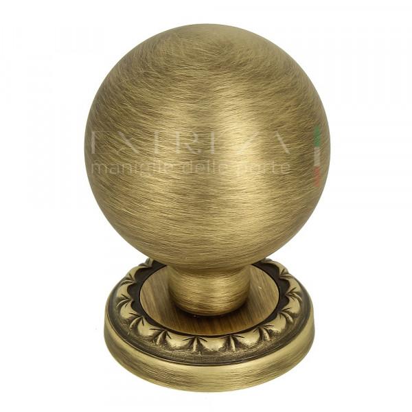 """Дверная ручка-кноб Extreza """"TONDO"""" R02 матовая бронза F03 (1шт.)"""