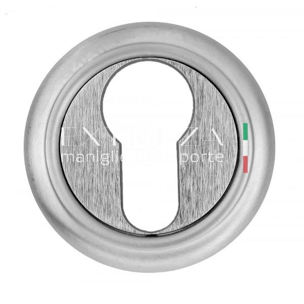 Накладка дверная Extreza CYL под цилиндр R01 матовый хром F05