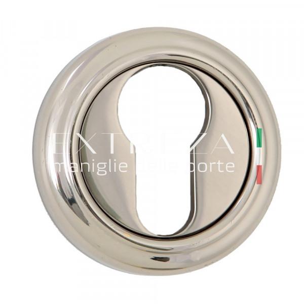 Накладка дверная Extreza CYL под цилиндр R01 полированный никель F21